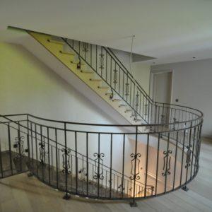smeedijzeren trappen