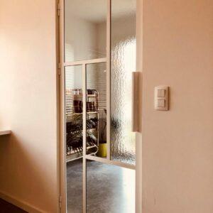 stalen witte binnendeur